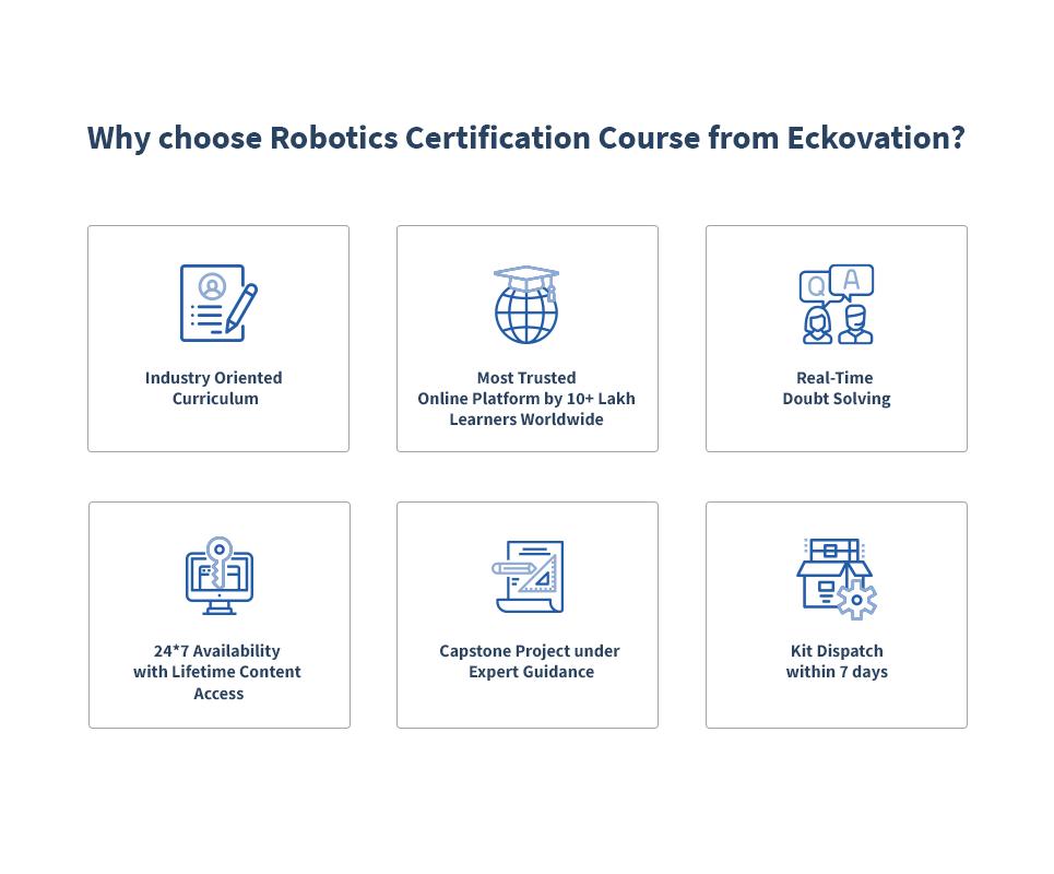 Robotics Online Certification Course + Guaranteed Internship