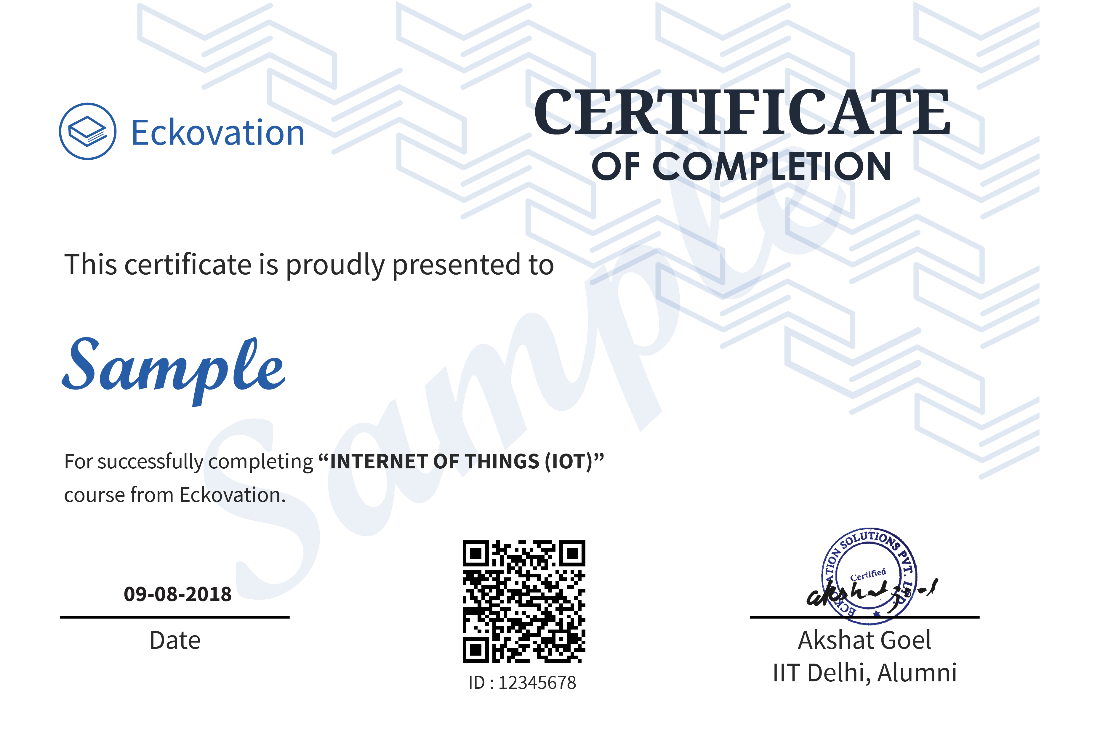 Internet Of Things Iot Online Certification Course Guaranteed